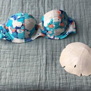🌊☀️👙Fun floral bathing suit top